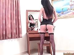 Ladyboy Office Slut May