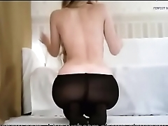 Sexy girl in lingerie show ass beyond everything webcam