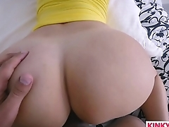 Stretching Out His Pretty Stepmom Vanessa Cage