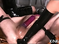 Defloration of brutal whore