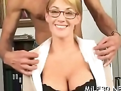 Voluptuous mother i'_d like to fuck gets drilled