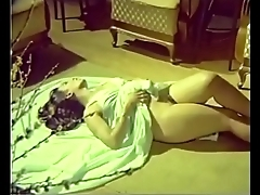 Sexy girl show perfect tits to old man