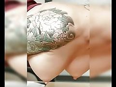 Huge big boob babe